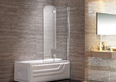 Double Swing Bath Panel