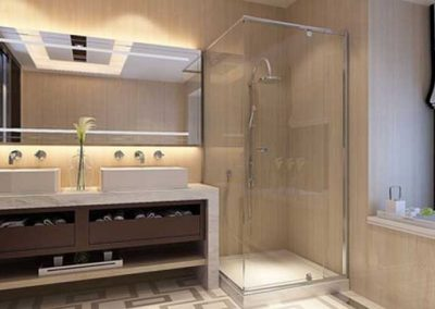 The Riviera Semi Frameless Shower