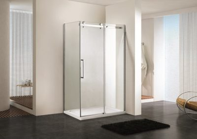 The Eden 8mm Frameless Shower Screen